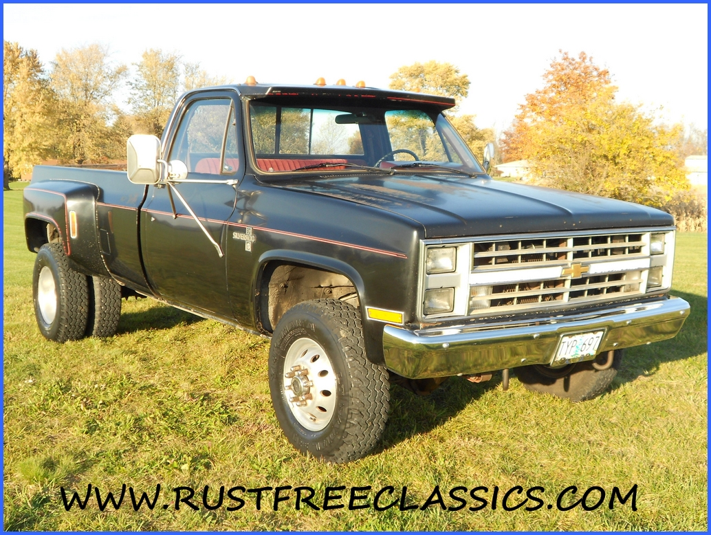 Image Of 86 Chevy Dually For Sale Rare Crew Cab Dually 1986 Chevy